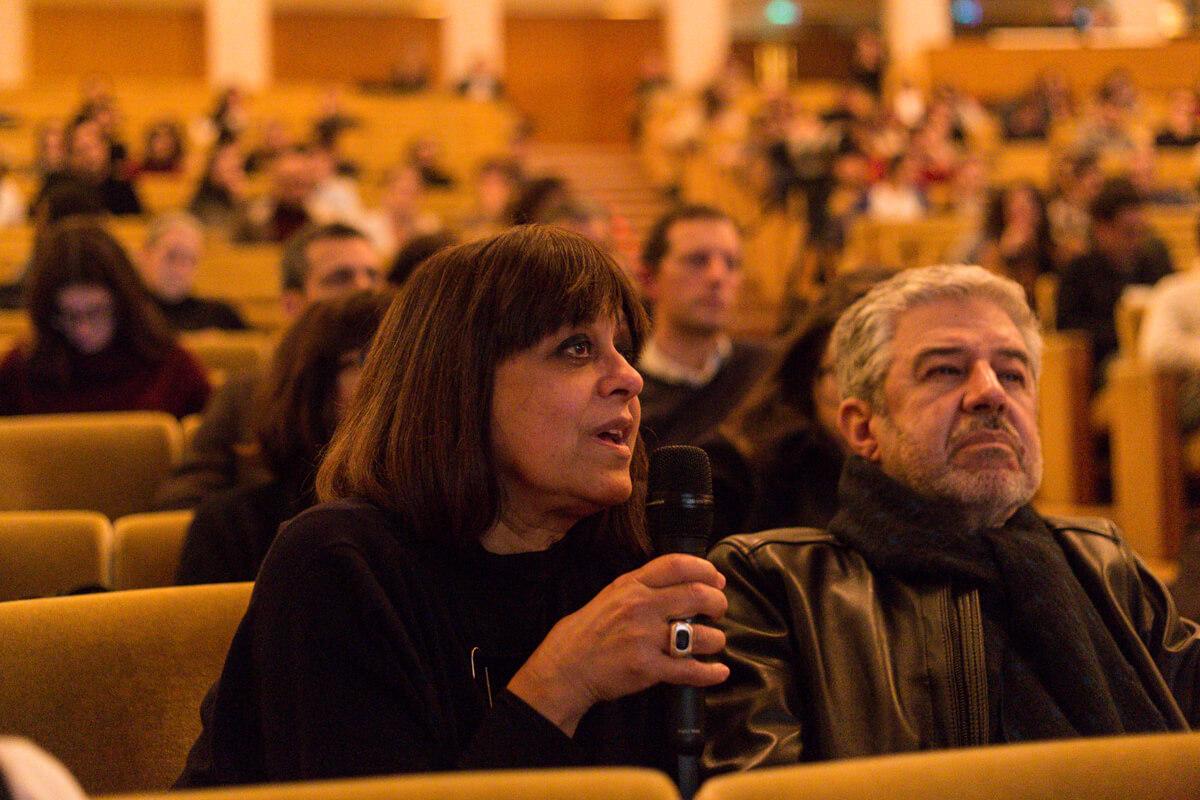 Margarida Grácio Nunes coloca uma pergunta a Tham & Videgård