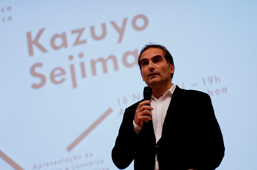 José Mateus, Conferência Kazuyo Sejima, 16 Nov 2011, Ala Magna © Tânia Araújo