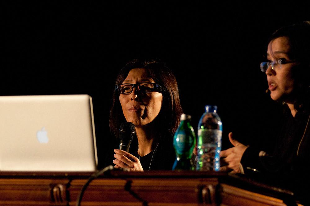Conferência Kazuyo Sejima, 16 Nov 2011, Ala Magna © Tânia Araújo