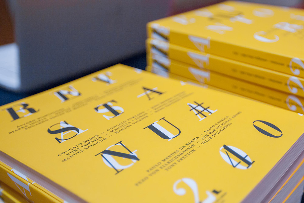 NU#40 Lançamento e conversa, design by Nuno Luz