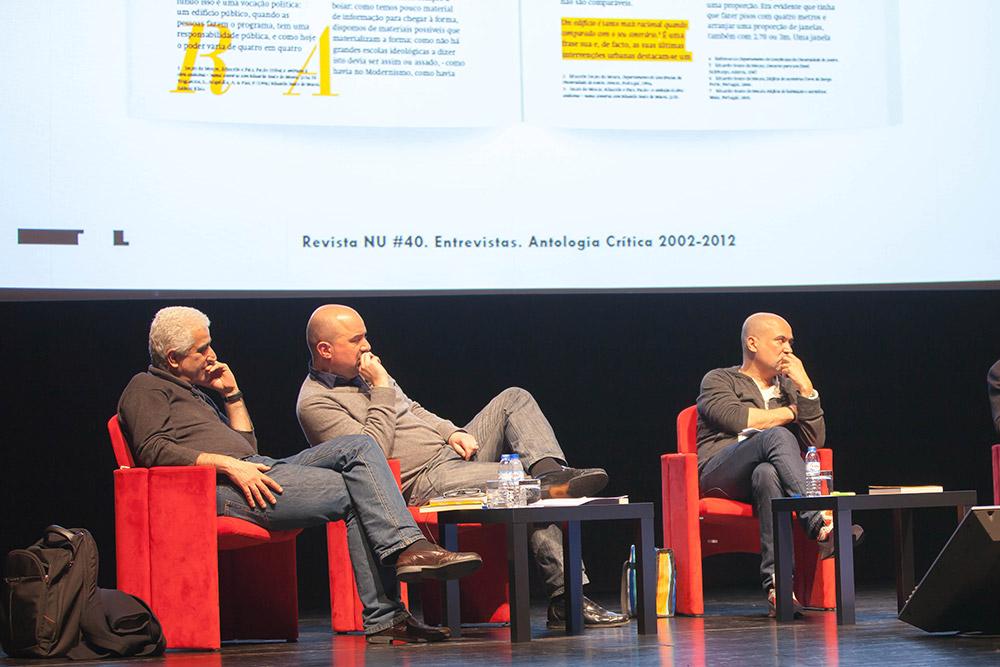 NU#40 Lançamento e conversa com  Paulo Providência, Diogo Seixas Lopes; Didier Faustino; Tony Fretto