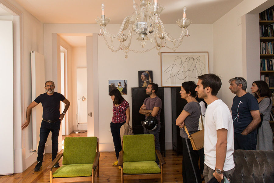 Apartamento no Chiado, Visita Comentada