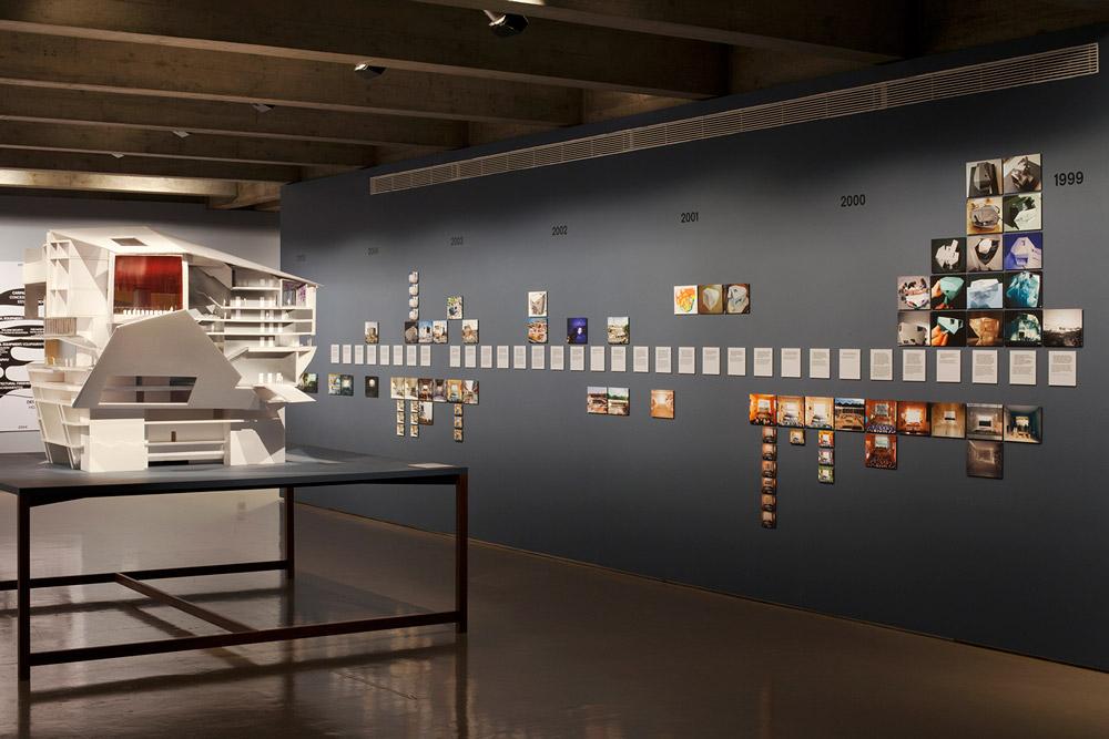 Building Site, exhibition, curated by André Tavares, Fundação Calouste Gulbenkian, © Tiago Casanova