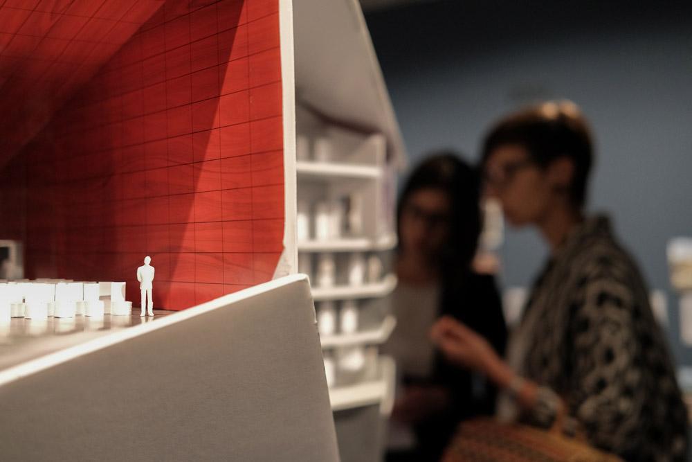 Building Site Exhibition, curated by André Tavares, Fundação Calouste Gulbenkian © Pedro Sadio