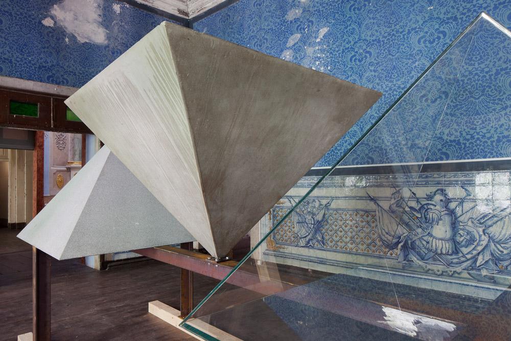 A Triangular History, exhibition, curated by Pedro Bandeira, participant Eduardo Souto de Moura © Ti