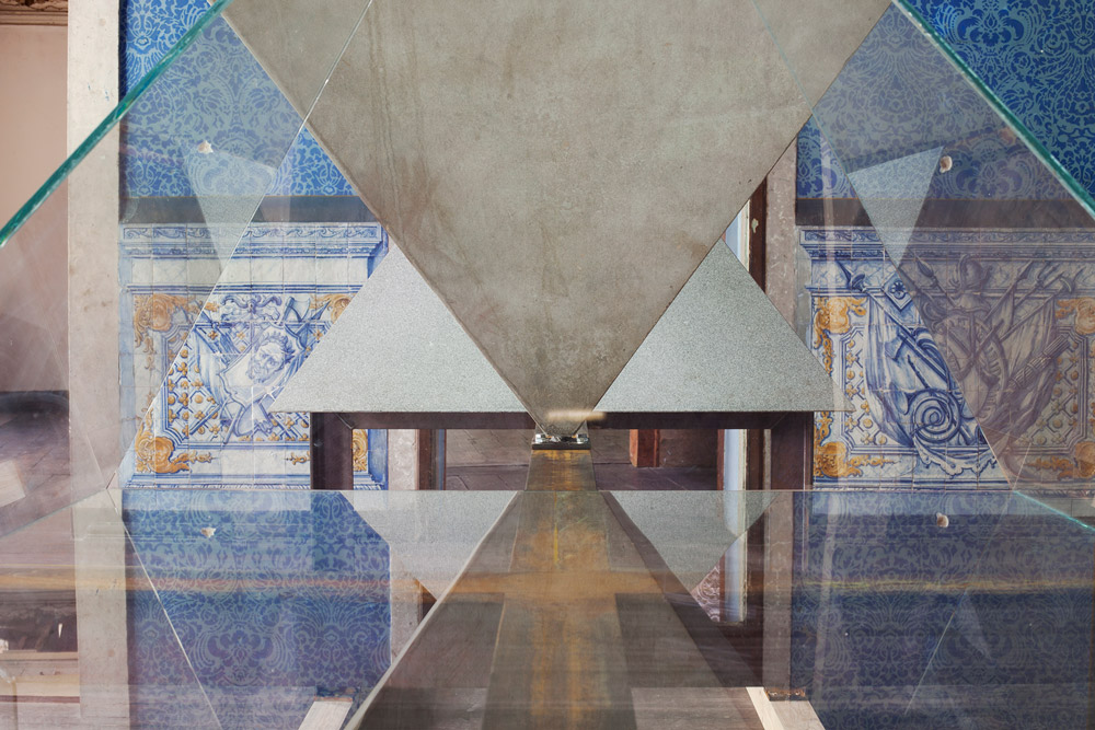 Exposição Satélite, Uma História Triangular, curadoria de Pedro Bandeira, participante Eduardo Souto