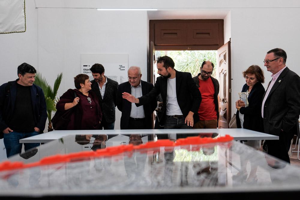 Exposição Satélite, Objecto-Projecto, curadoria de Godofredo Pereira, Antigo Presídio da Trafaria, ©