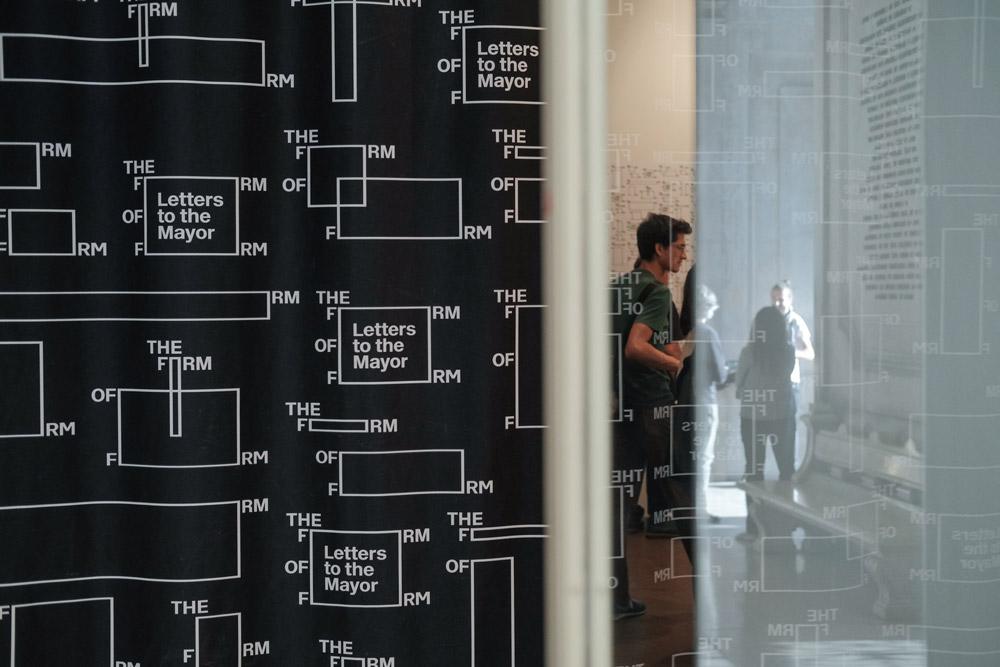 Exposição Satélite, Cartas ao Sr. Presidente, curadoria de Ivo Poças Martins, Galeria dos Paços do C