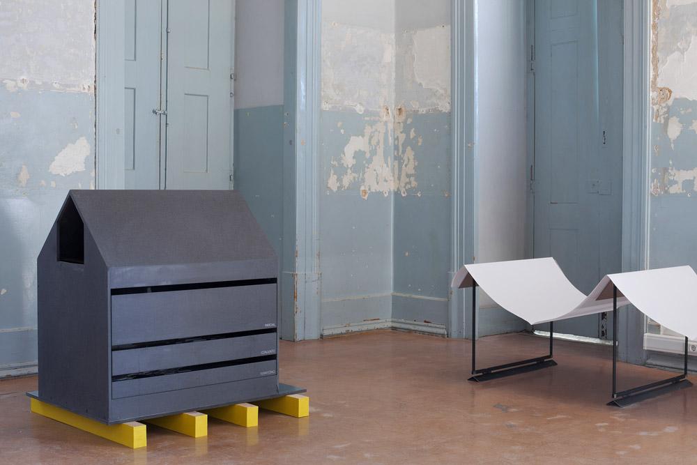 Sines: Seaside Logistics, exhibition, curated by Marta Labastida and Rui Mendes, Triennale's HQ © Ti