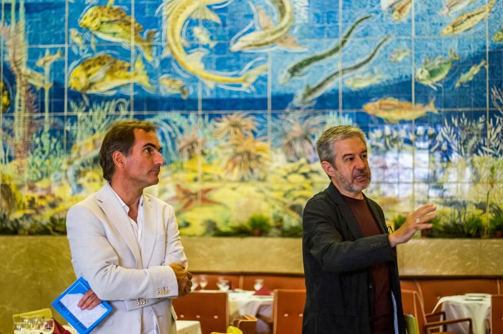 Press tour - Cervejaria Solmar com José Matéus e Fernando Sanchez Salvador