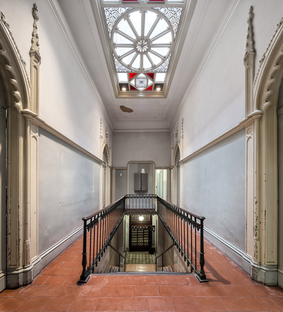 Escadaria, 2º Piso © FG+SG Fotografia de Arquitectura