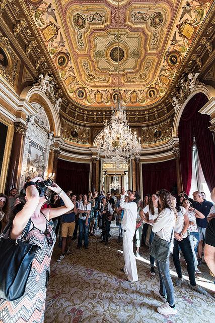 Visita aos Paços do Concelho no âmbito do Open House Lisboa