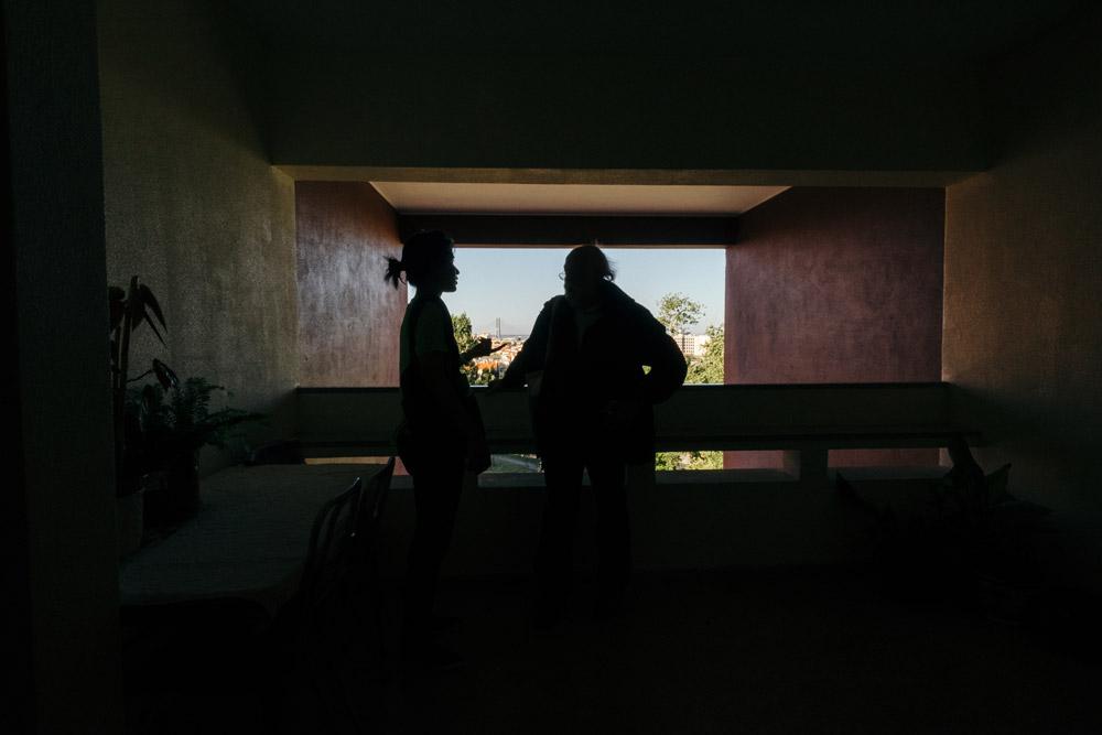 Torre nos Olivais Sul com Raúl Hestnes Ferreira  © Pedro Sadio