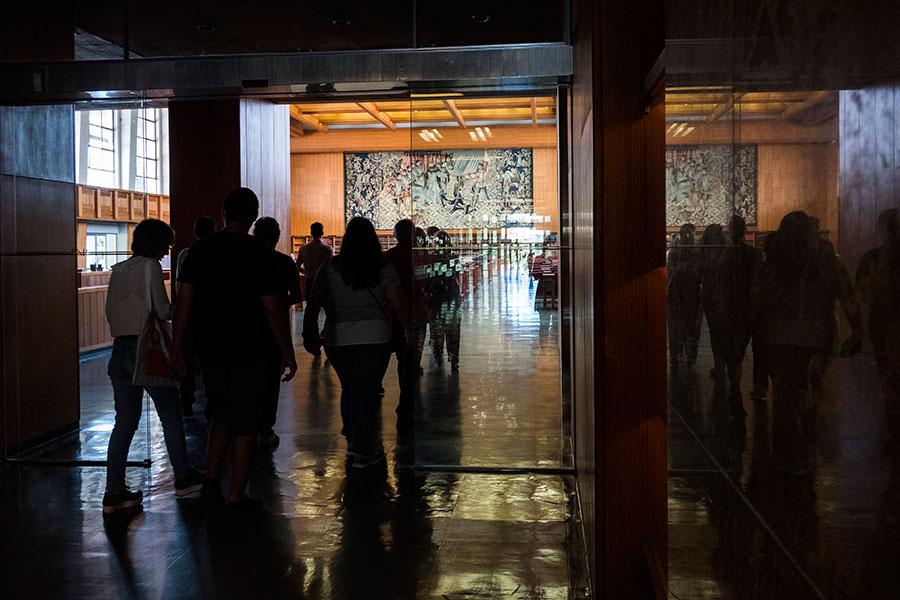 Biblioteca Nacional, Visita comentada por João Pardal Monteiro