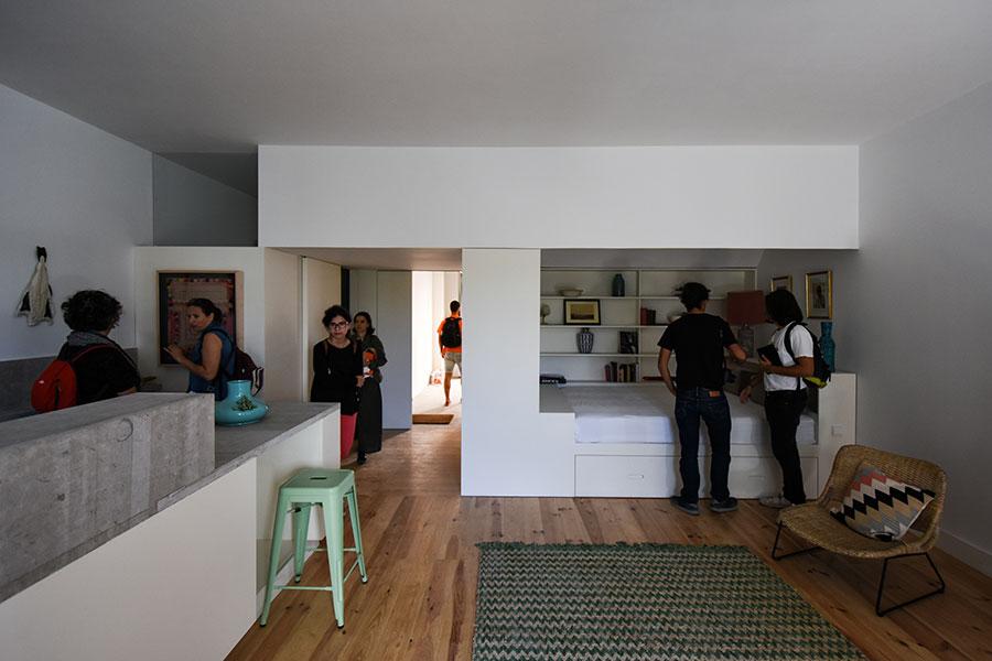 Casa Zero, Visita Comentada