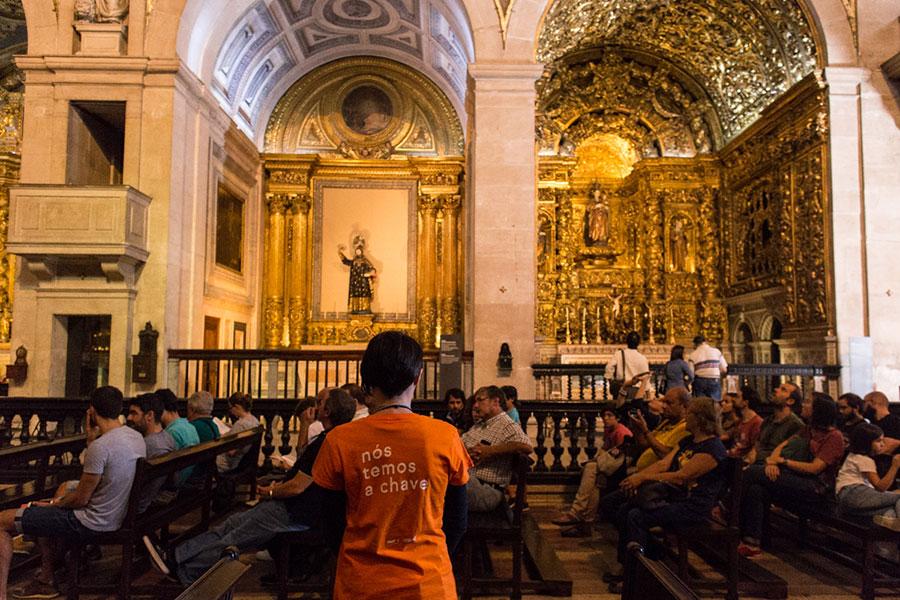 Igreja de São Roque, Visita Orientada © Fábio Cunha