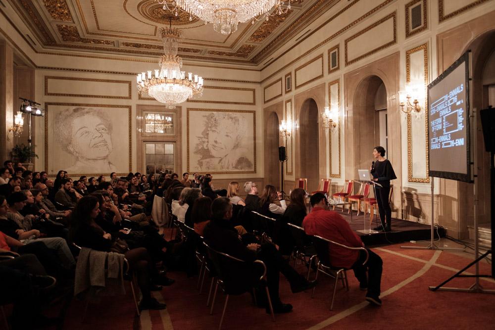 Conferência, 2016-Ennials (Form), curated by Léa-Catherine Szacka & Rute Figueiredo, Teatro Nacional D. Maria II © Pedro Sadio