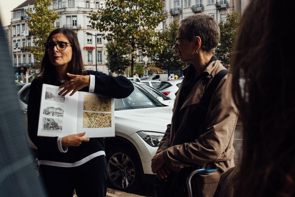 Visita comentada por Ana Vaz Milheiro, Avenidas Novas, © Pedro Sadio