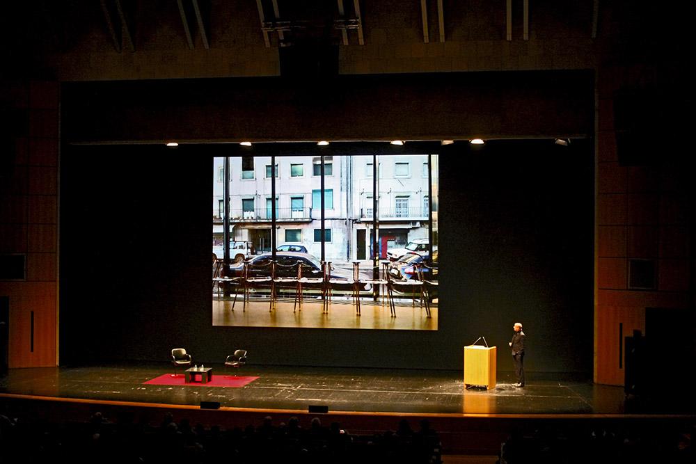 Conferência, Christian Kerez, 9 Maio 2016 © Trienal de Lisboa