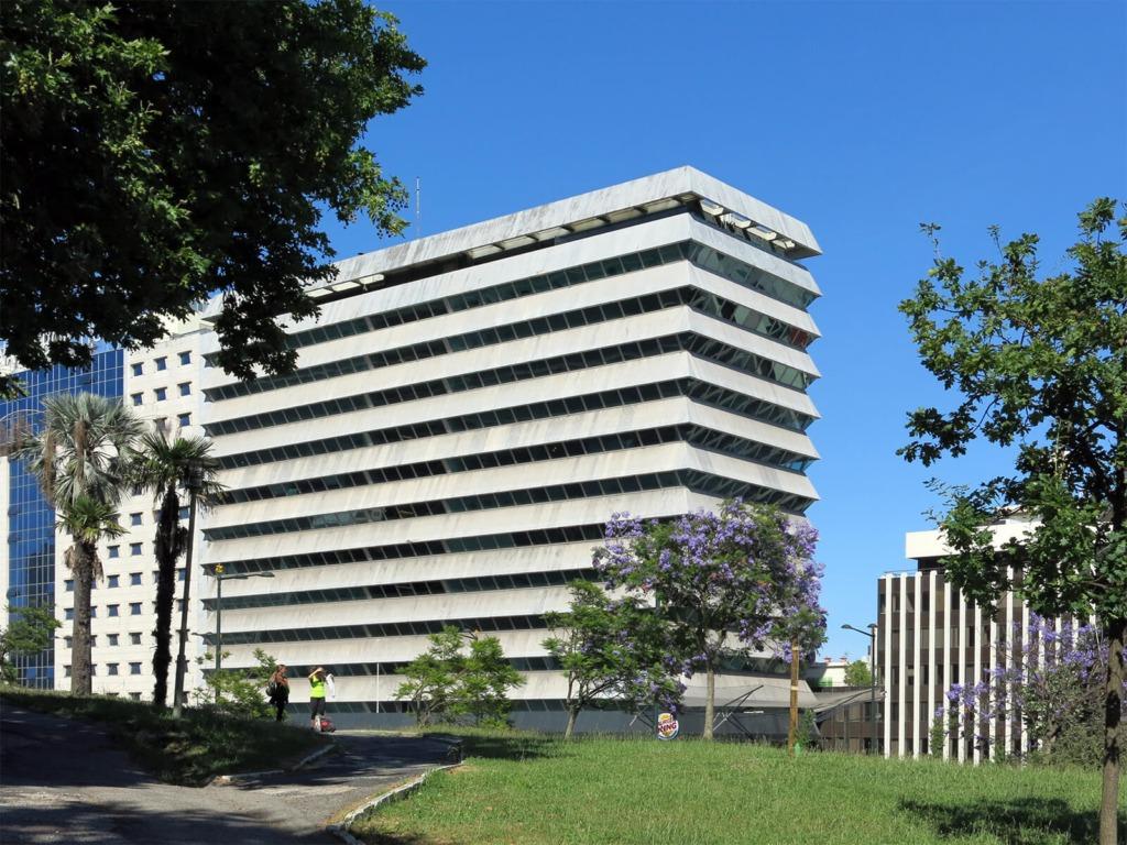 Vista geral do edifício Liberty Seguros