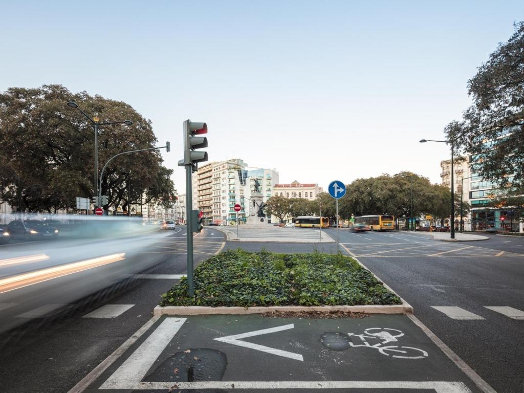 Avenida da República desde o Saldanha © FG+SG, Fotografia de Arquitectura