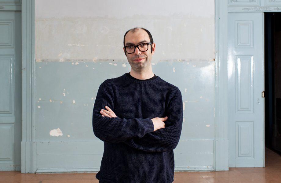André Tavares, comissário da Trienal de Arquitectura de Lisboa 2016.